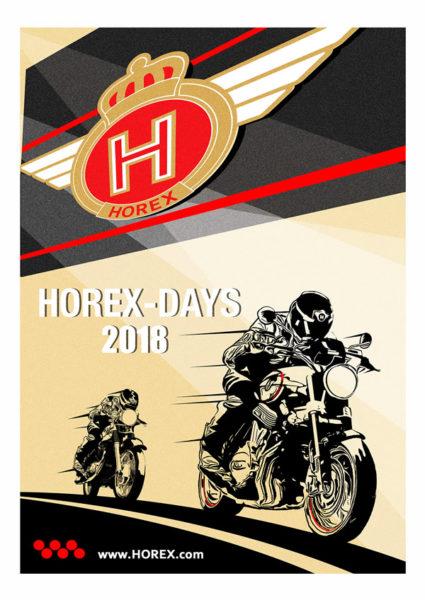 Mark Fairhurst ha creato il poster ufficiale degli HOREX-Days