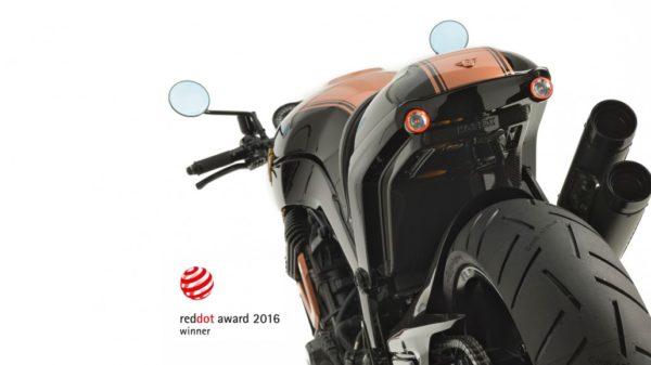 DIE NEUE HOREX VR6 BLACK EDITION GEWINNT 'RED DOT AWARD'